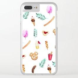 Tropical Sugar Rush Clear iPhone Case