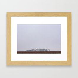 spanish fog Framed Art Print