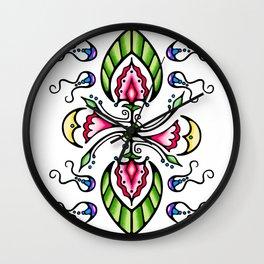Moon Song 1 Wall Clock