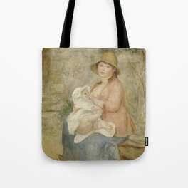 Maternity (Child at the breast) Tote Bag