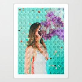Dissociate Art Print