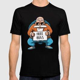 Muten Roshi free hugs T-shirt