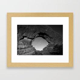 Arched Framed Art Print