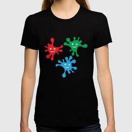 Colorful blots T-shirt