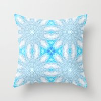 frozen Throw Pillows featuring Frozen  by 2sweet4words Designs