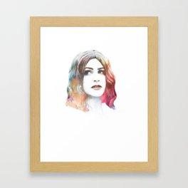 Deity II Framed Art Print