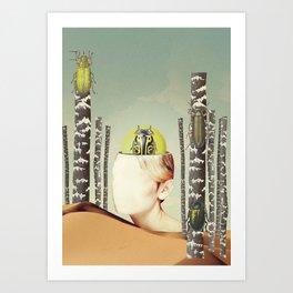 VIAJERA ESPACIAL / OSC2  Art Print