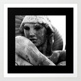 River Goddess Art Print