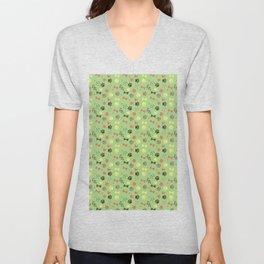 Good Dog - Green and Coral Unisex V-Neck