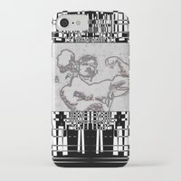 muscle iPhone & iPod Cases featuring Muscle by Saul Vargas