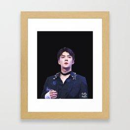 Dreamer — Oh Sehun Framed Art Print