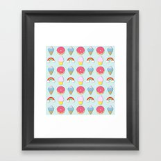 Happy Candyland Framed Art Print