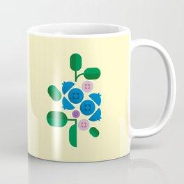 Fruit: Blueberry Coffee Mug
