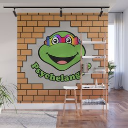 Psychelangelo - The Lost Ninja Turtle Wall Mural