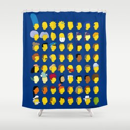 Springfield Follicles Shower Curtain