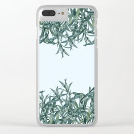 Plants '01 Clear iPhone Case