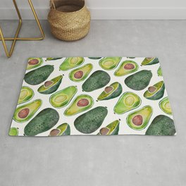 Avocado Slices Rug