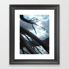 Creepy Hollow Framed Art Print
