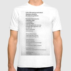 Possible Allies Among the Indifferent Codices Mens Fitted Tee SMALL White