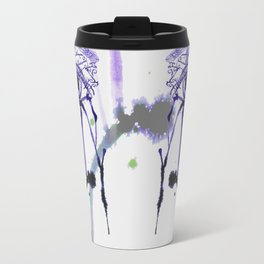 Ink Abstractive Eye Travel Mug