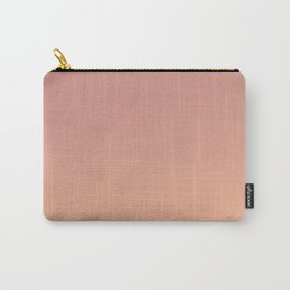AFTER FALL - Minimal Plain Soft Mood Color Blend Prints Carry-All Pouch