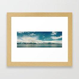 Nautical Tetons Framed Art Print