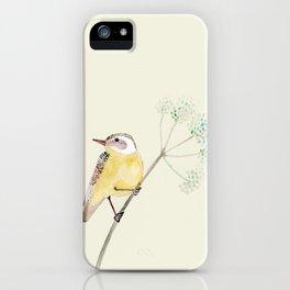 Yellow bird 2 iPhone Case