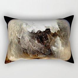 Bubble Frozen in Time Rectangular Pillow