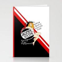 bioshock Stationery Cards featuring Bioshock - Jasmine Jolene by Chimaera Designs