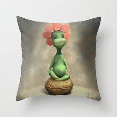 Walnut Throw Pillow