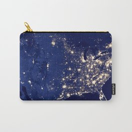 City Lights of the United States Carry-All Pouch