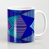 tapestry Mugs featuring Tapestry  by Truly Juel