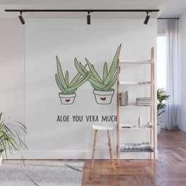 Aloe You Very Much Wall Mural