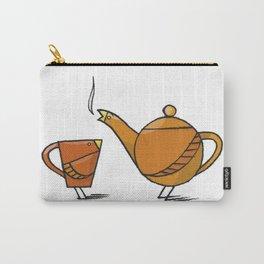 Tea Birds Carry-All Pouch