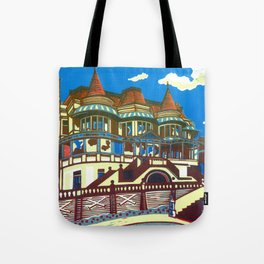 East Cliff Hall (Russell-Cotes Art Gallery & Museum) Tote Bag