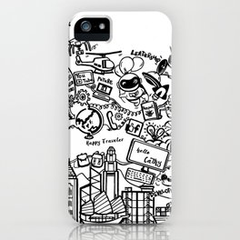 Happy Traveler AIESECer iPhone Case
