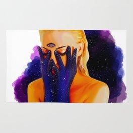 Divine Feminine 1 ( We Are The Cosmos ) Rug