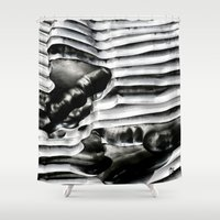 metal Shower Curtains featuring Metal by Christine Becksted Images