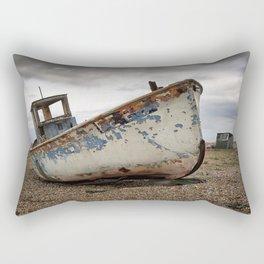 The Trawler, Dungeness, Kent Rectangular Pillow