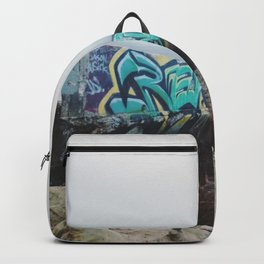 Beach Graffiti Backpack