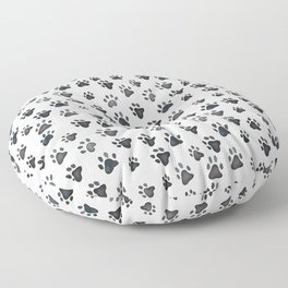 Muddy Paws Floor Pillow