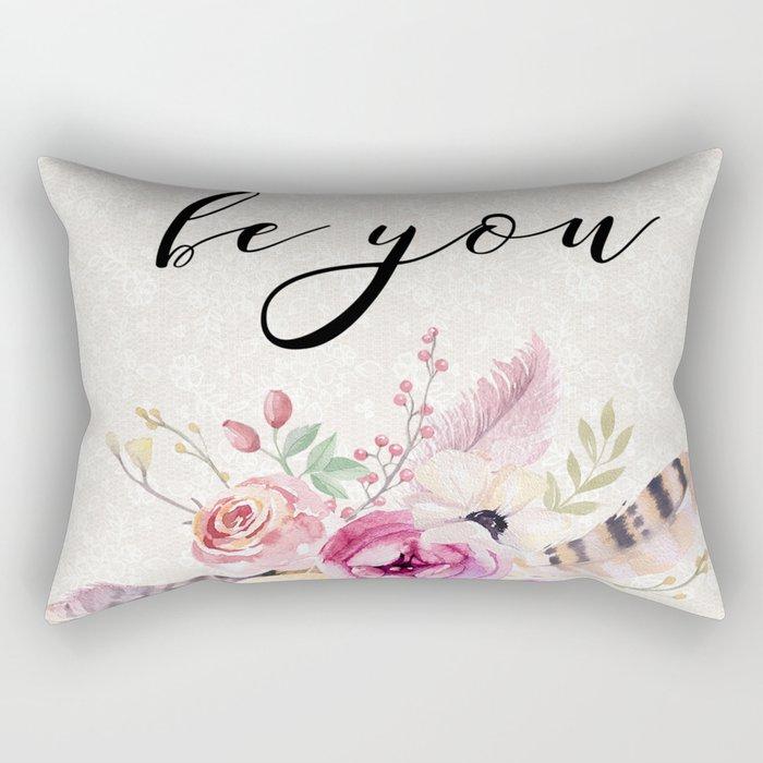 Flowers bouquet #26 Rectangular Pillow
