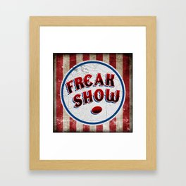 """FREAK SHOW"" Bullet Framed Art Print"