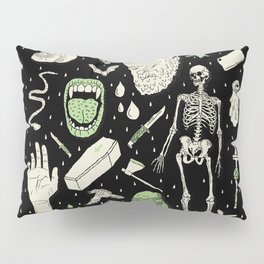 Whole Lotta Horror: BLK ed. Pillow Sham