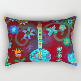 FESTIVE TREE OF LIFE Rectangular Pillow
