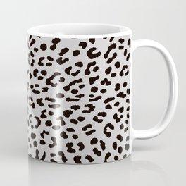 Grey Leopard Skin Coffee Mug