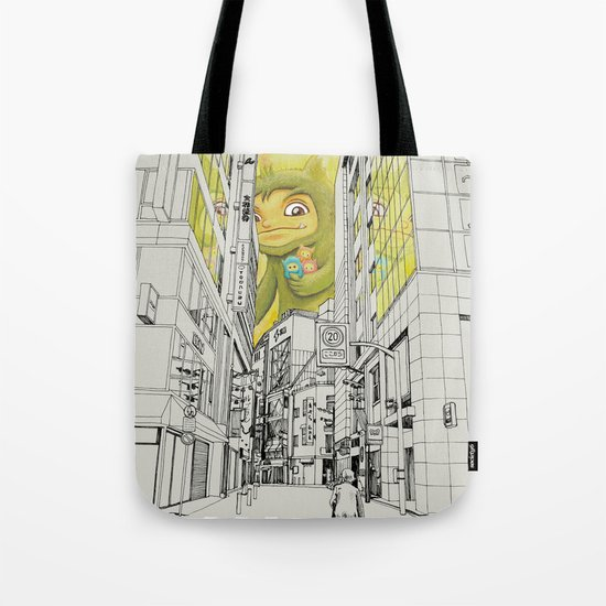 quiet baby steps Tote Bag