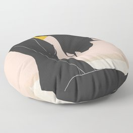 Sunset Floor Pillow