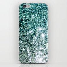 Seaside marble iPhone Skin