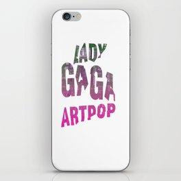 ARTPOP  iPhone Skin